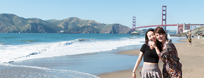 LISA-Sprachreisen-Schueler-Englisch-USA-San-Francisco-16-Plus-Golden-Gate-Strand